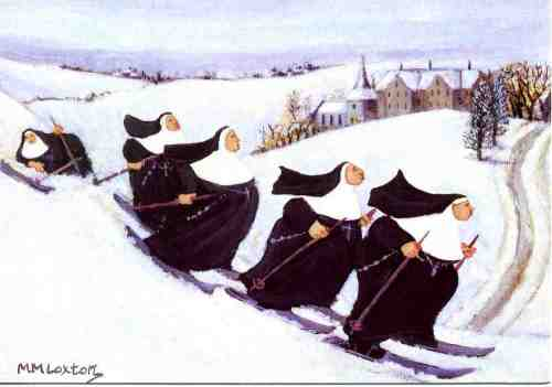 Skiing_nuns