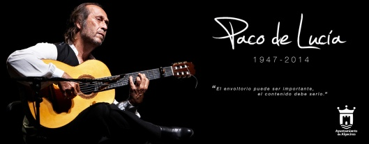 Paco de Lucia Book of Condolence
