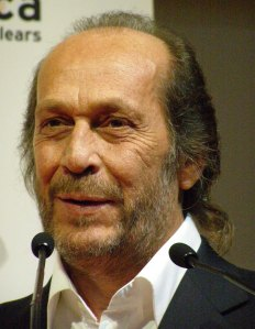 Paco de Lucía at a press conference in London
